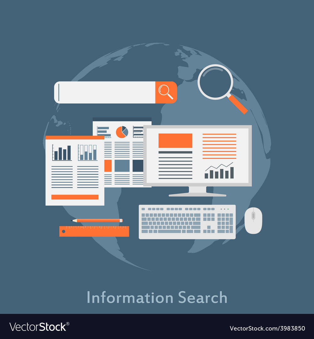 Information search vector | Price: 1 Credit (USD $1)