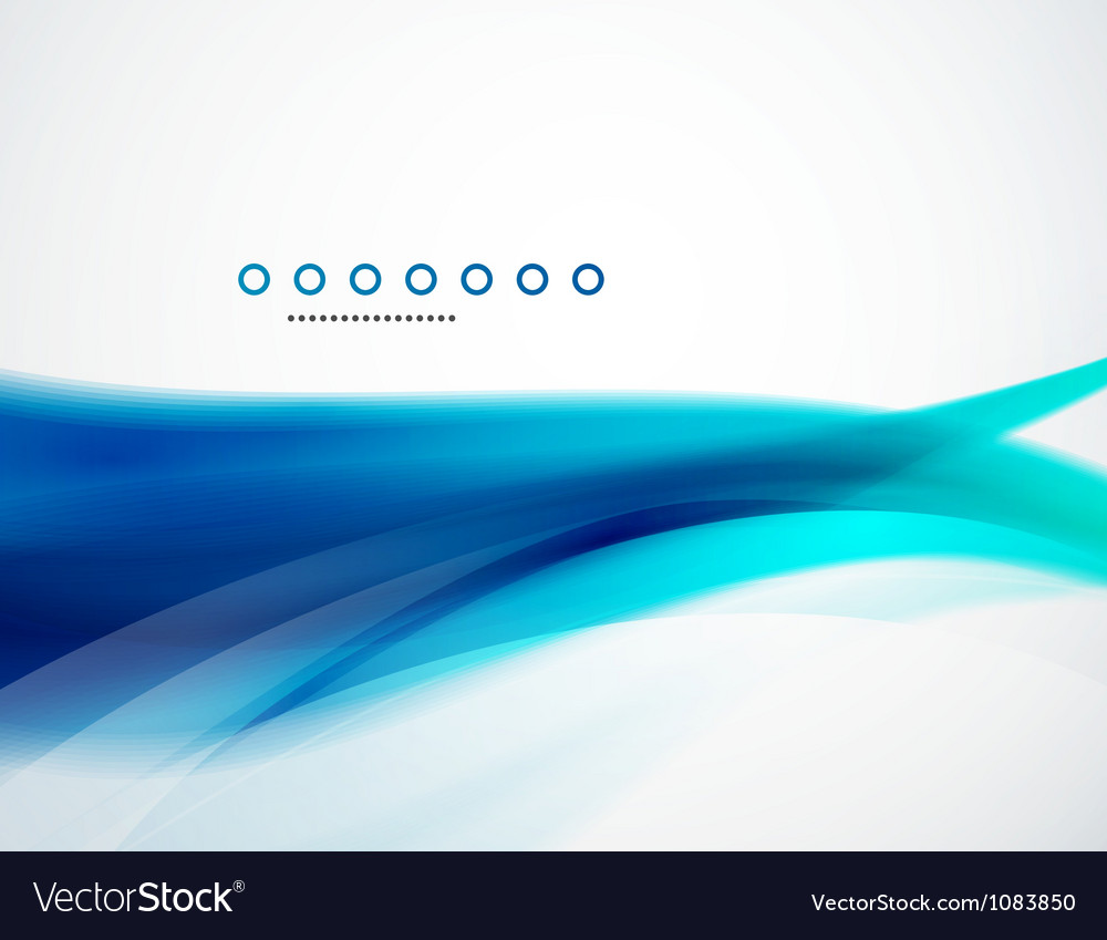 Wave template vector | Price: 1 Credit (USD $1)