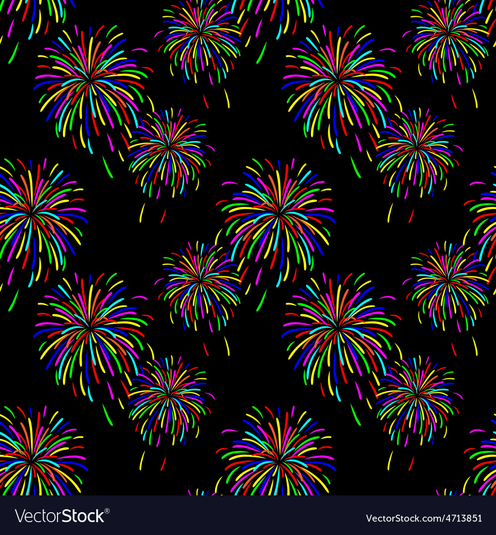 Abstract of fireworks vector | Price: 1 Credit (USD $1)