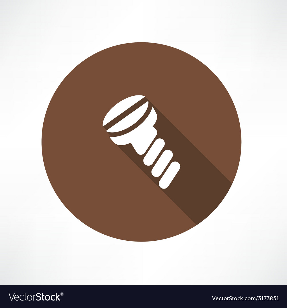Screw icon vector | Price: 1 Credit (USD $1)