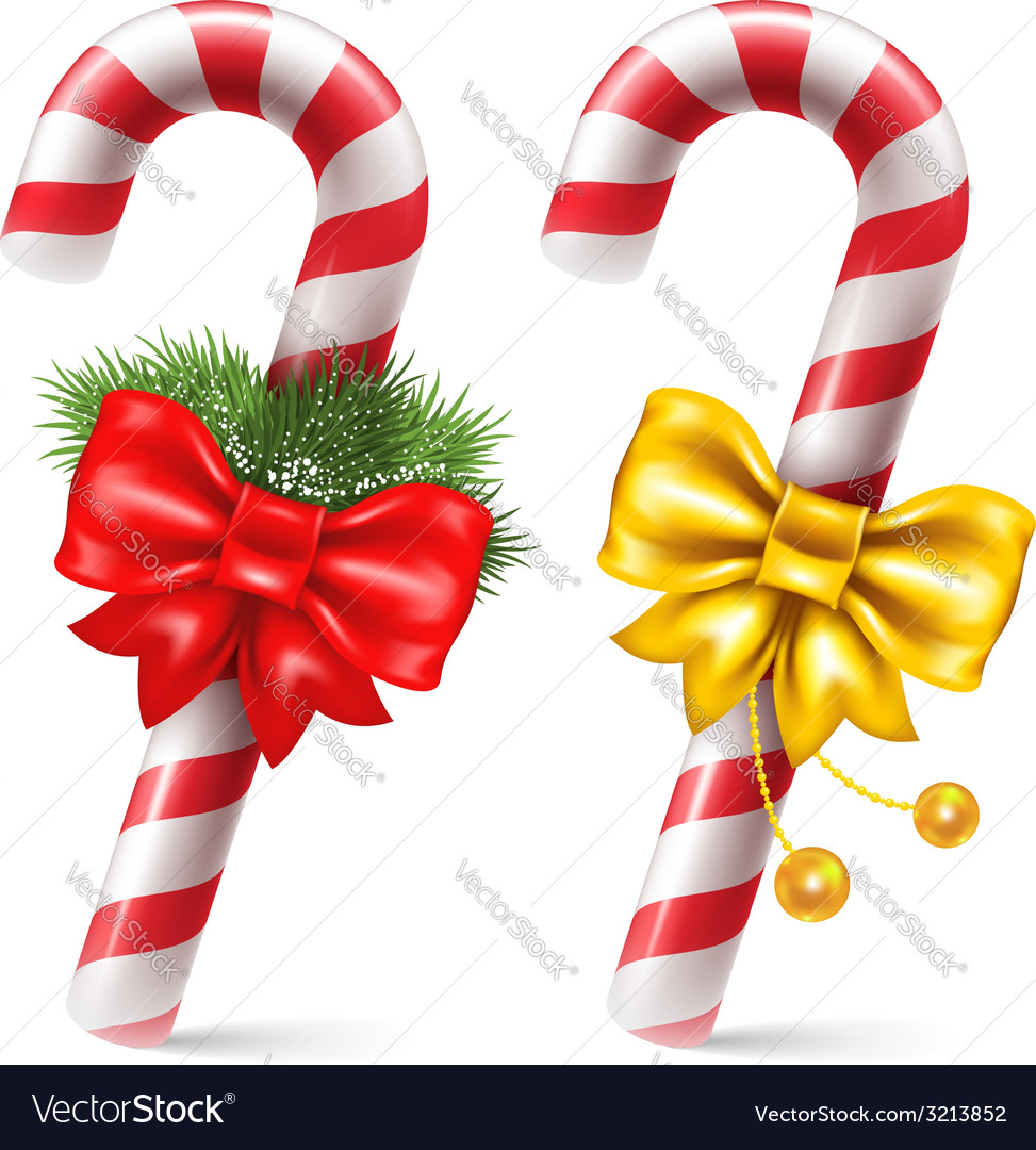 Candy cane vector | Price: 3 Credit (USD $3)