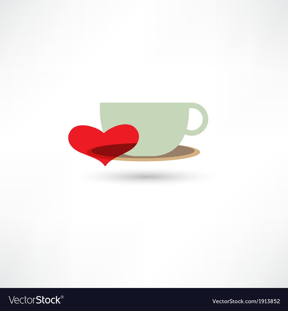 Love hot drinks vector | Price: 1 Credit (USD $1)