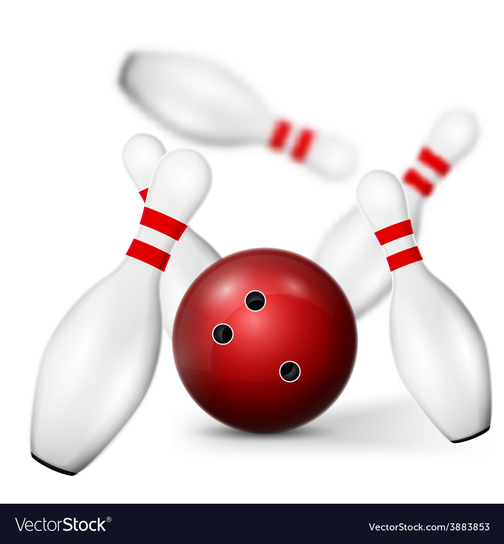 Bowling pin vector | Price: 1 Credit (USD $1)