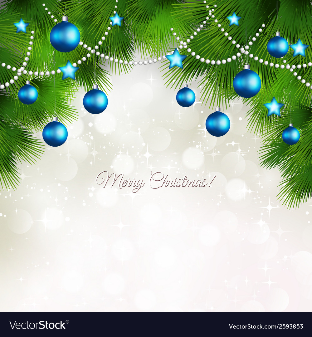 Merry christmas greeting card vector   Price: 1 Credit (USD $1)