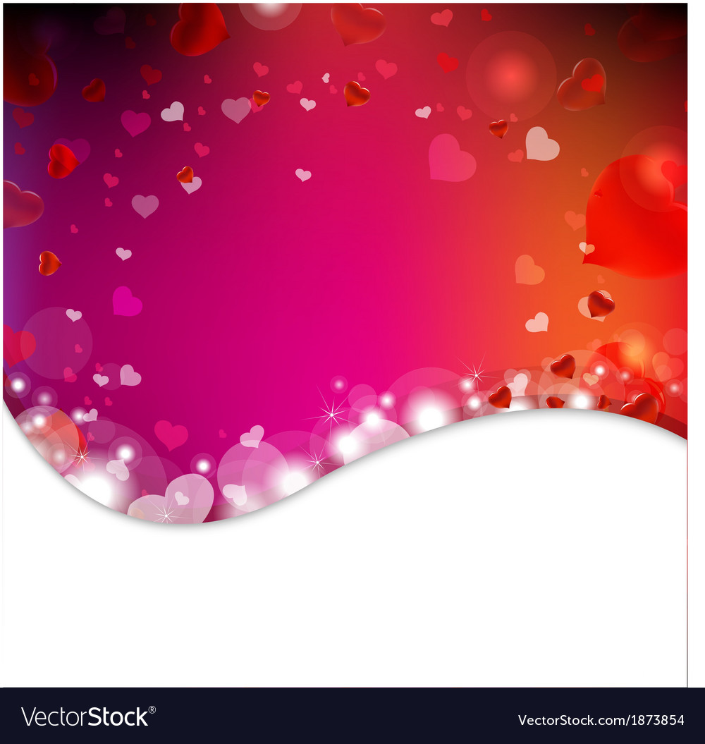 Background from blur and hearts vector | Price: 1 Credit (USD $1)