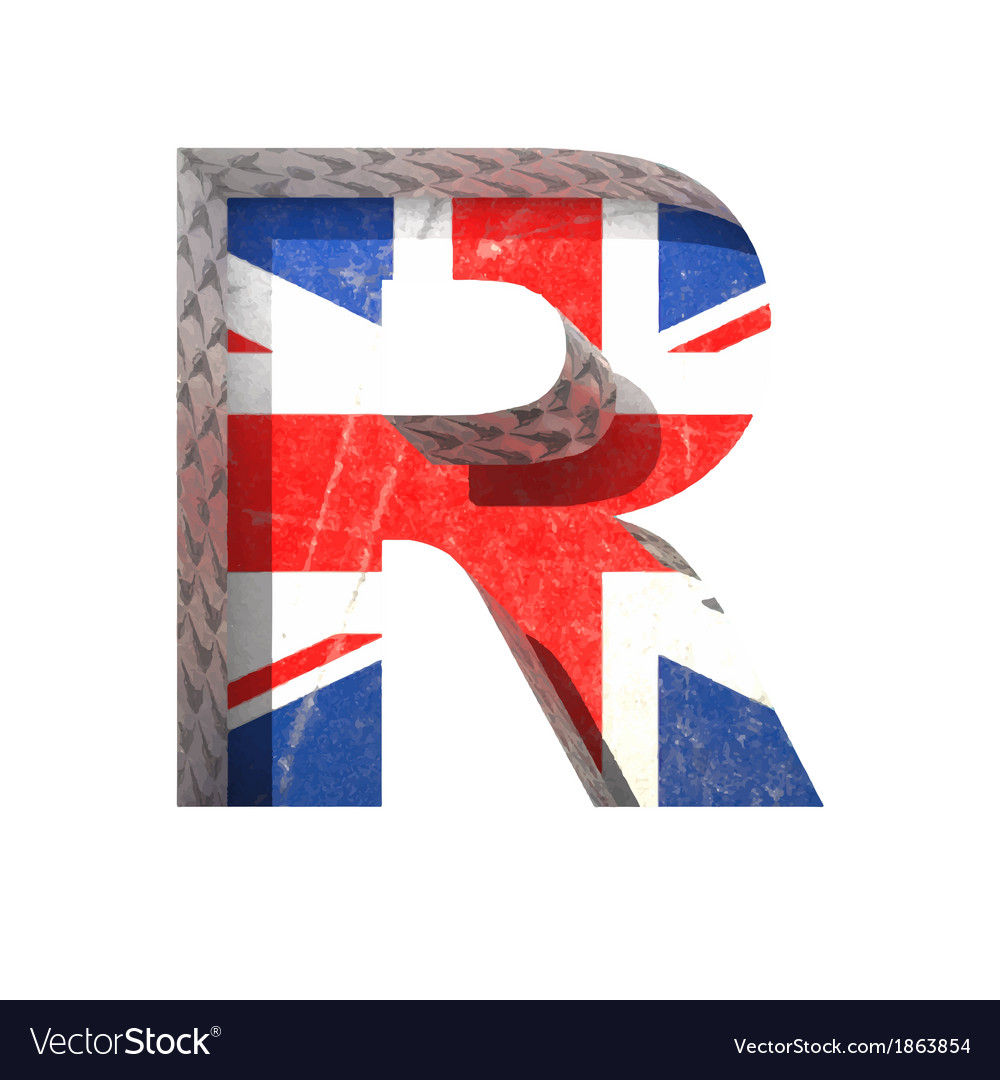 Great britain cutted figure r paste to any vector | Price: 1 Credit (USD $1)