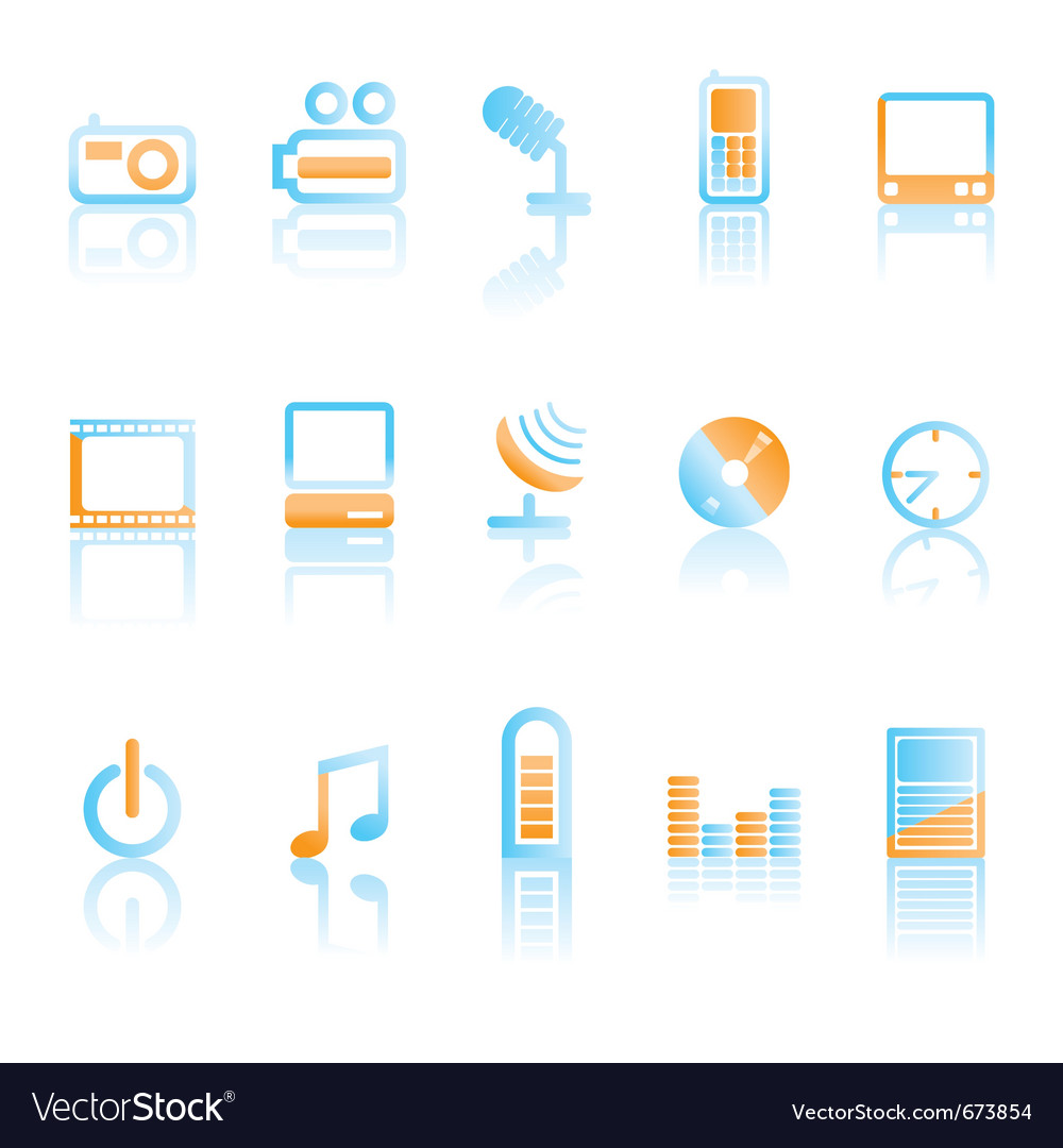 Mobile phone icons vector   Price: 1 Credit (USD $1)