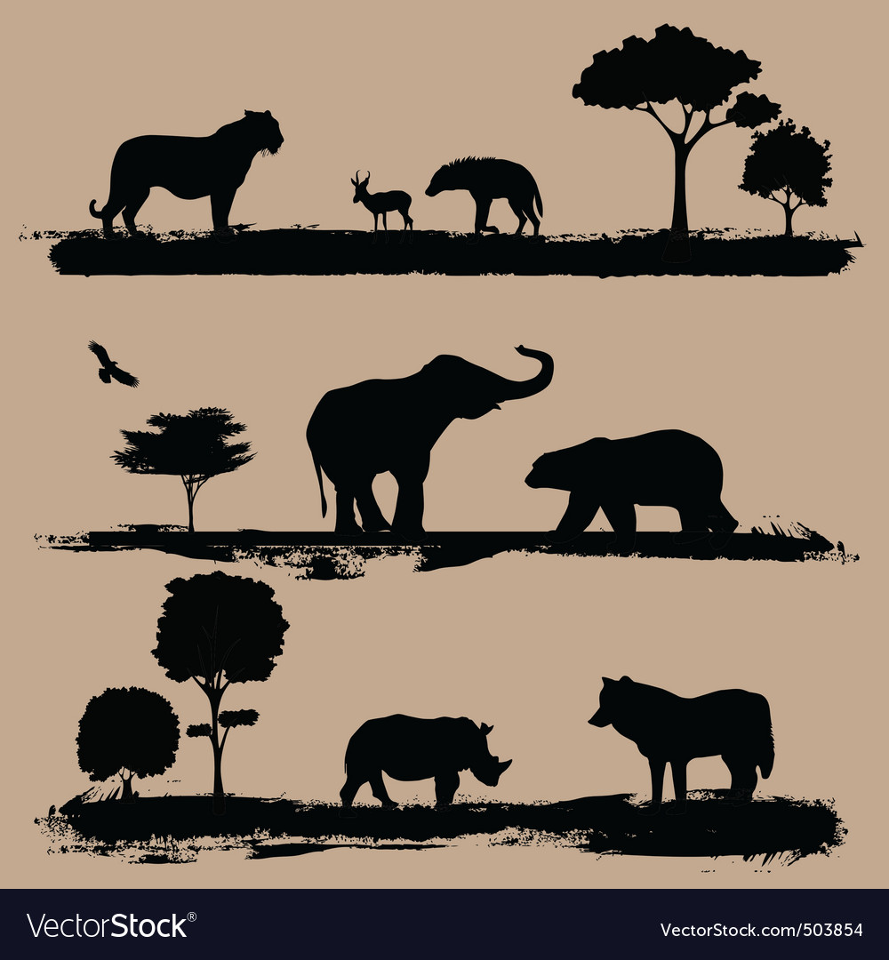 Wildlife vector | Price: 1 Credit (USD $1)