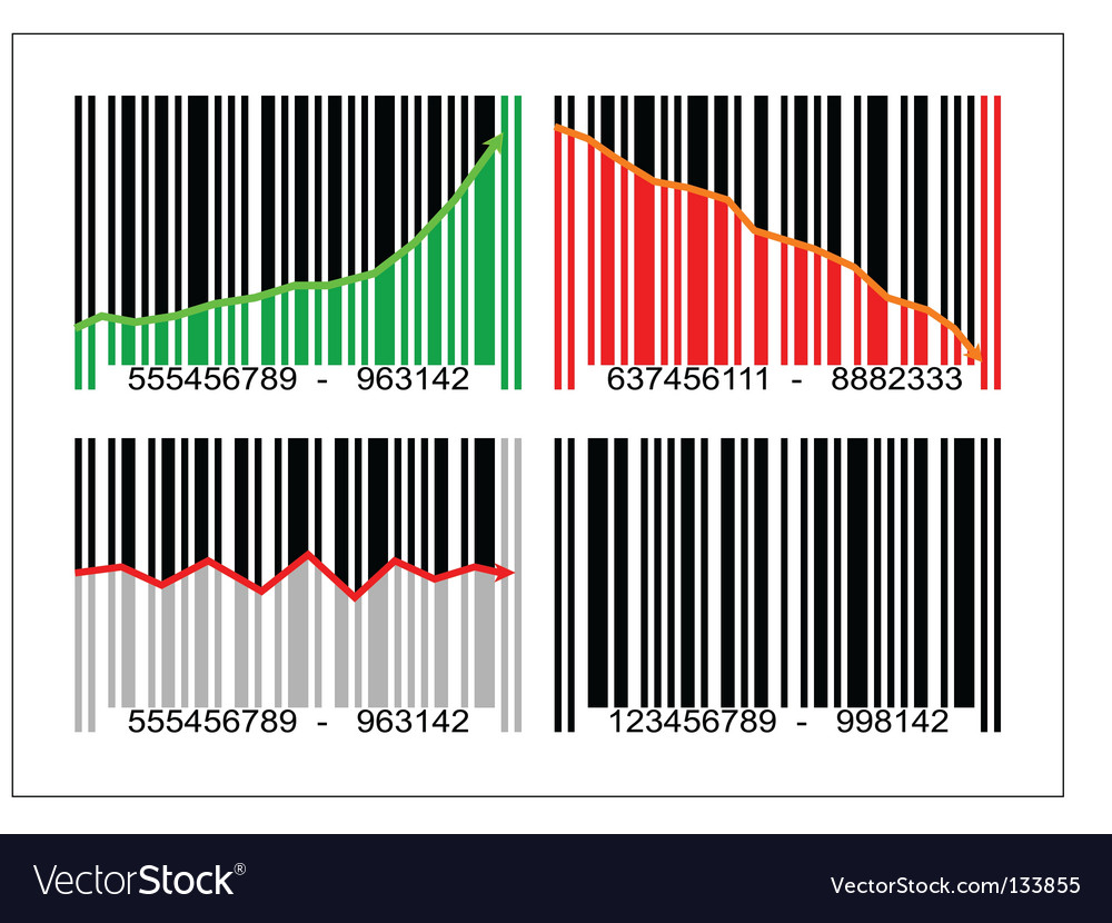 Bar code vector | Price: 1 Credit (USD $1)