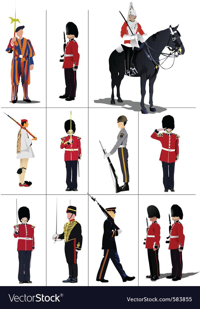 English guard vector | Price: 1 Credit (USD $1)