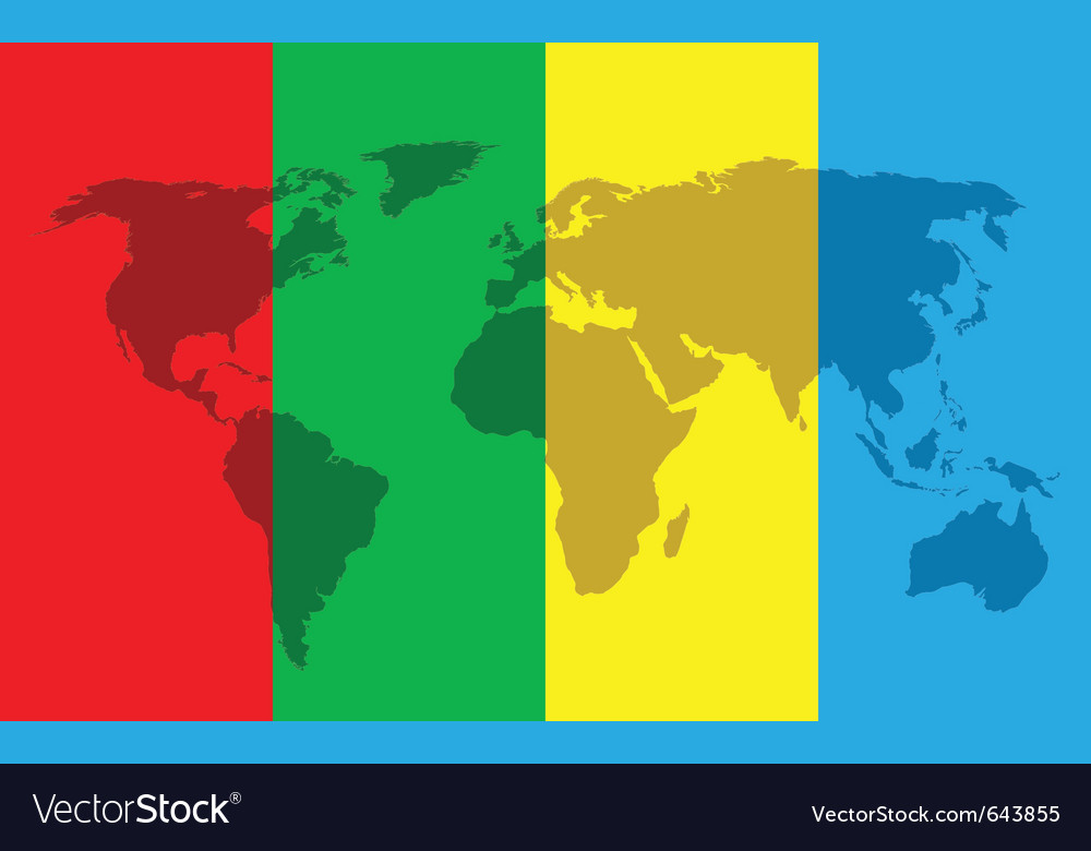 World color background vector | Price: 1 Credit (USD $1)