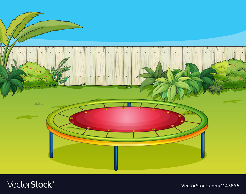 A trampoline vector | Price: 1 Credit (USD $1)
