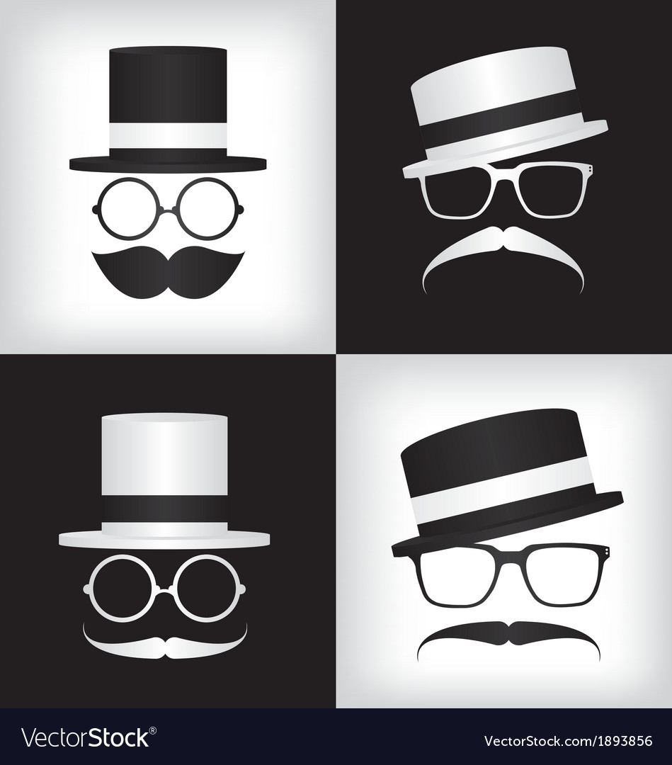 Hipster and gentleman vector | Price: 1 Credit (USD $1)