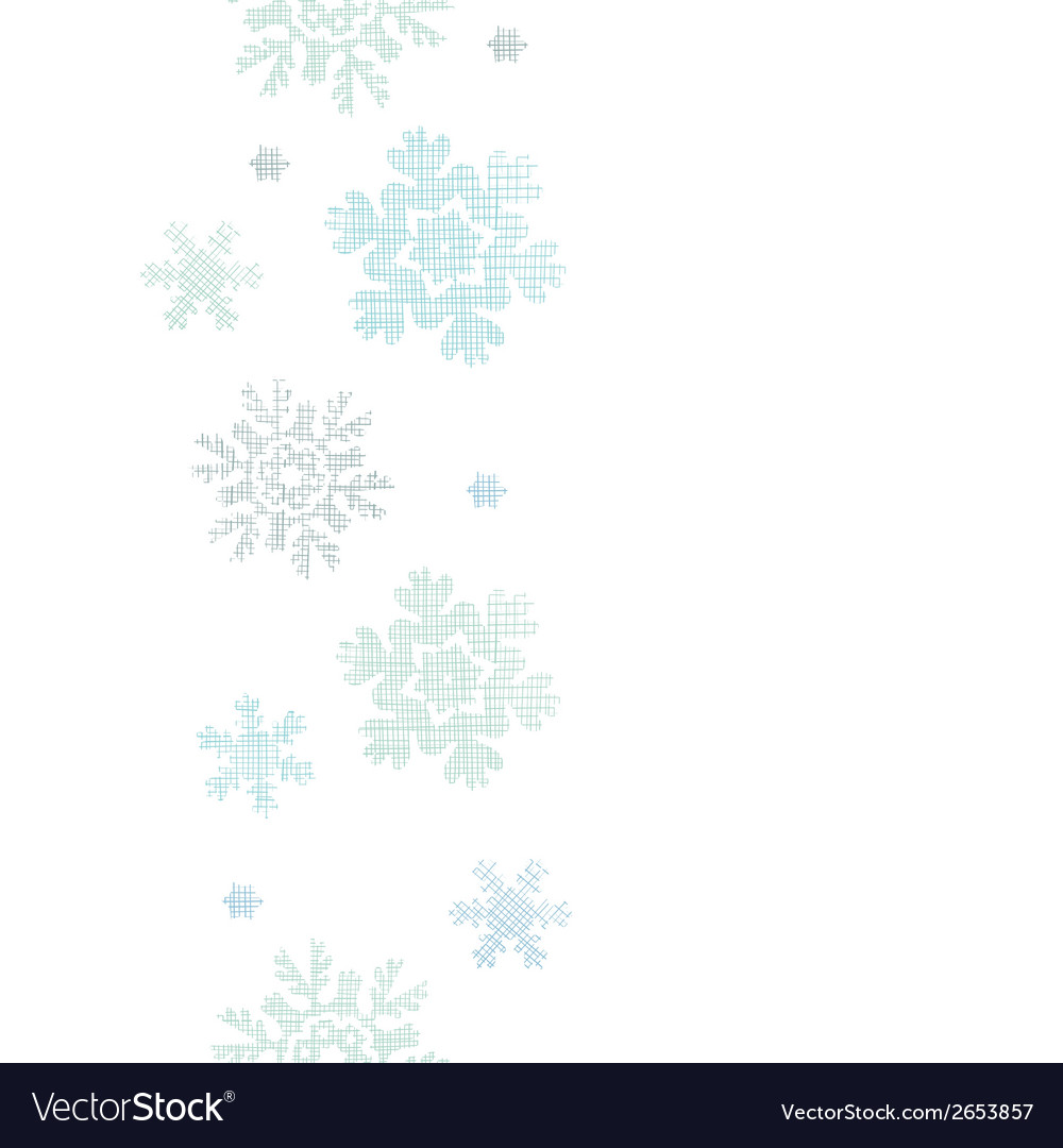 Blue christmas snowflakes textile texture vertical vector | Price: 1 Credit (USD $1)