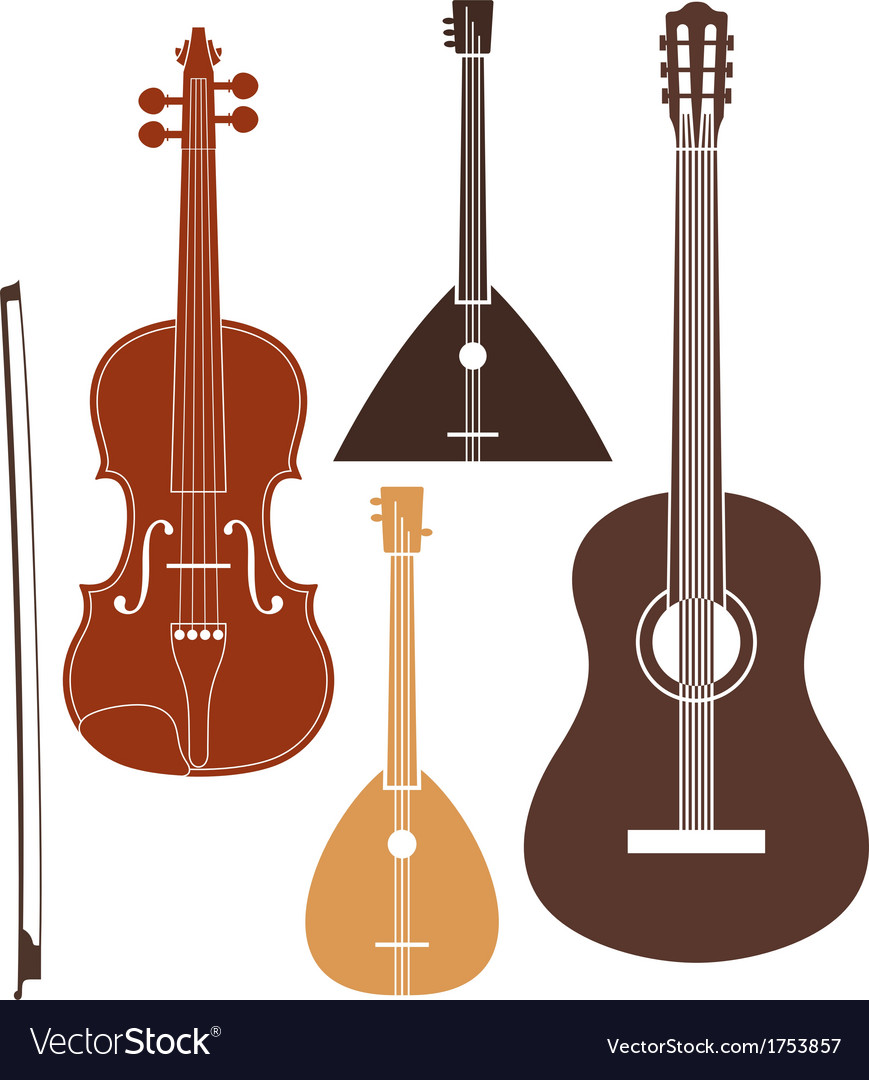 Musical instrument vector | Price: 1 Credit (USD $1)