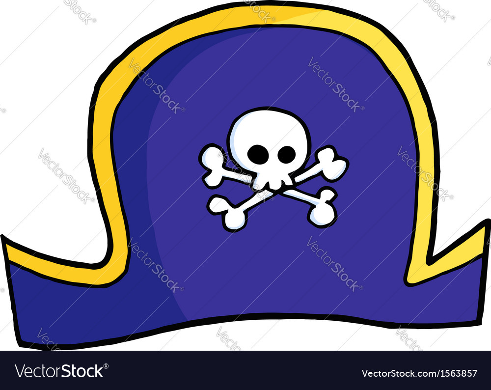 Pirate hat vector | Price: 1 Credit (USD $1)