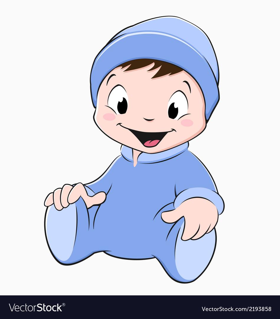 Cartoon baby vector | Price: 1 Credit (USD $1)