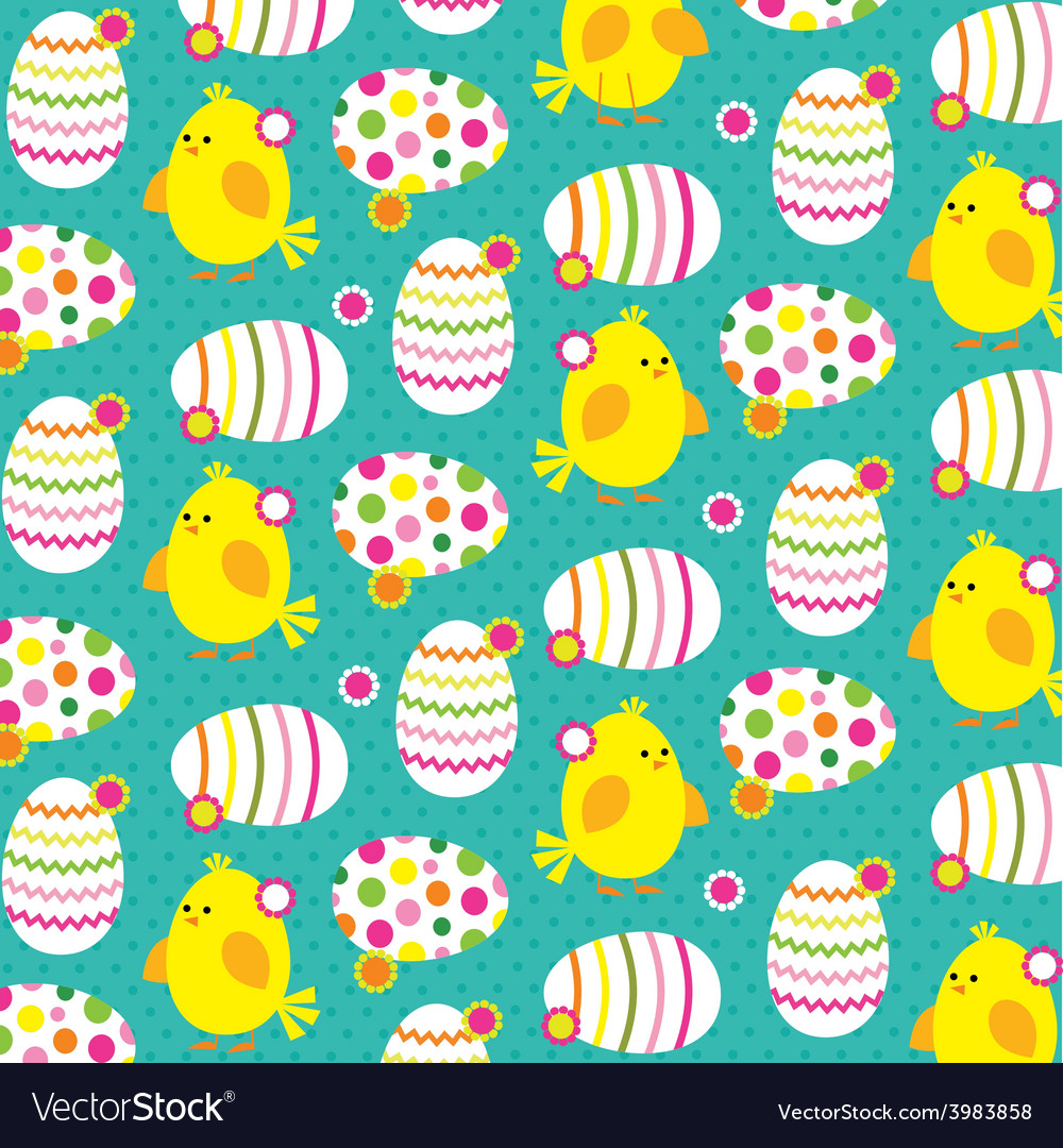 Chicks and eggs vector | Price: 1 Credit (USD $1)