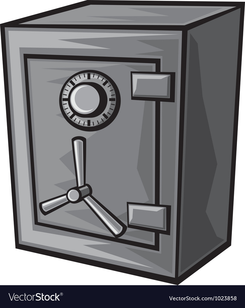 Safe box vector | Price: 1 Credit (USD $1)