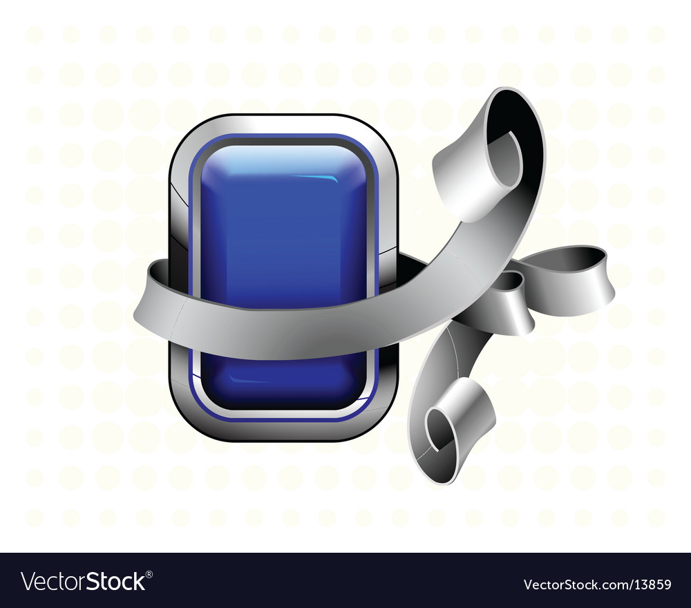 Blue button vector | Price: 1 Credit (USD $1)