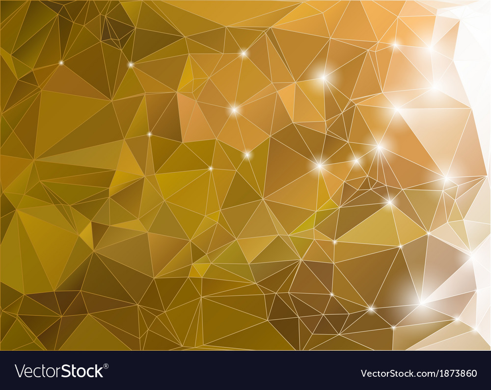 Abstract green shiny background polygon vector | Price: 1 Credit (USD $1)