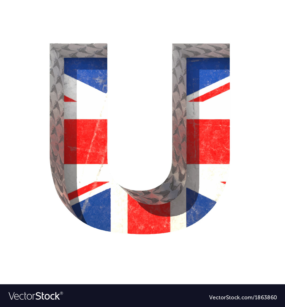 Great britain cutted figure u paste to any vector | Price: 1 Credit (USD $1)