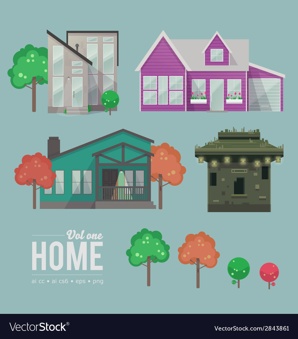 Home vol 1 vector | Price: 1 Credit (USD $1)