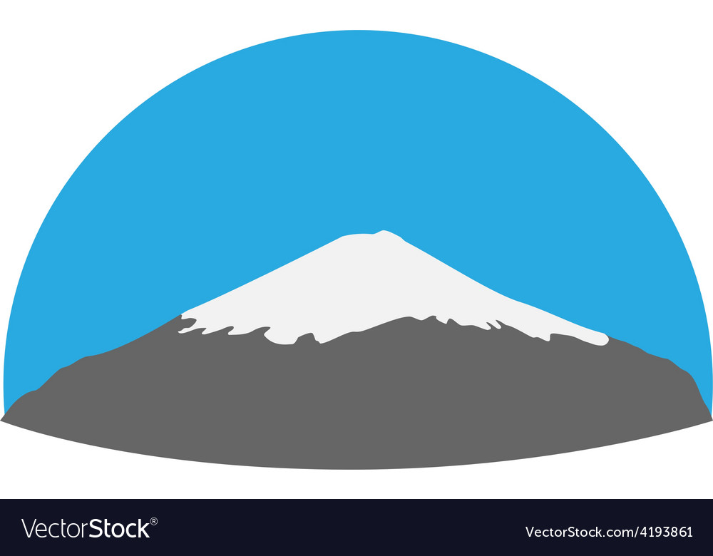 Mount fuji vector | Price: 1 Credit (USD $1)