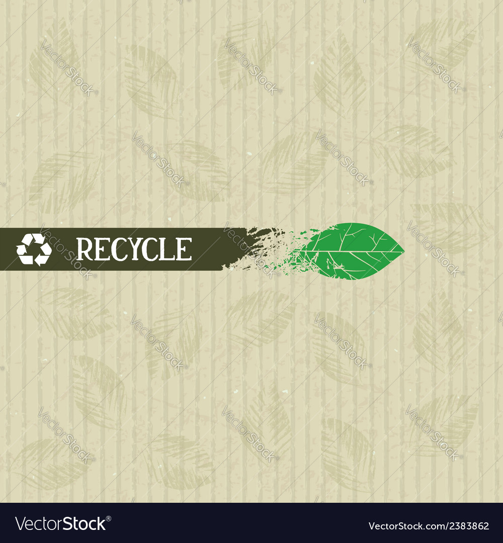 Recycle conceptual stripe vector | Price: 1 Credit (USD $1)