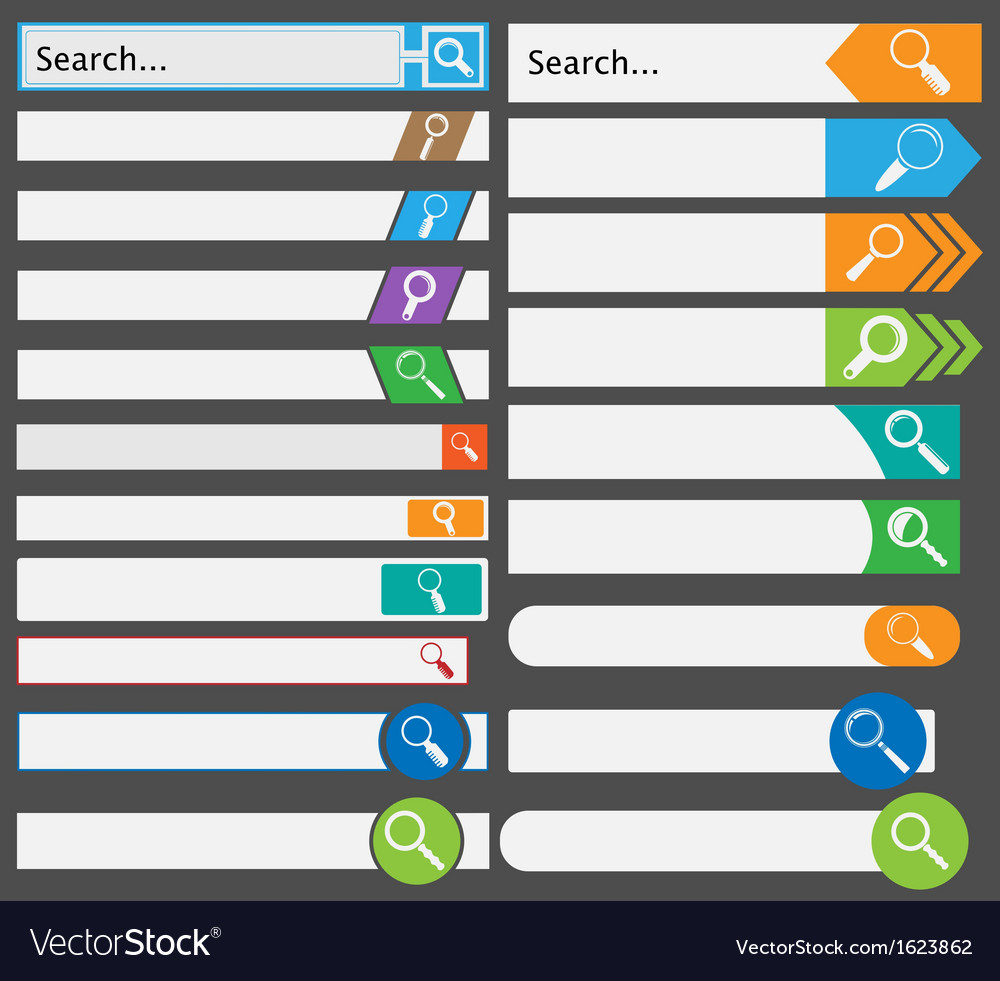 Search form vector | Price: 1 Credit (USD $1)