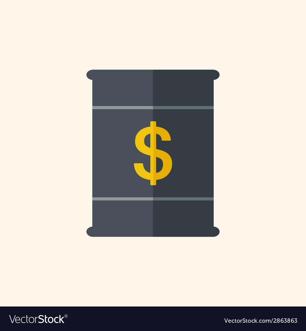 Fuel flat icon vector | Price: 1 Credit (USD $1)
