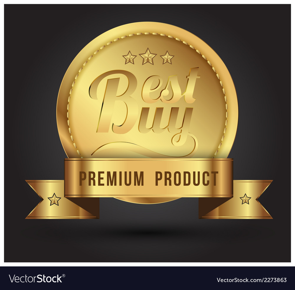 Gold badges vector | Price: 1 Credit (USD $1)
