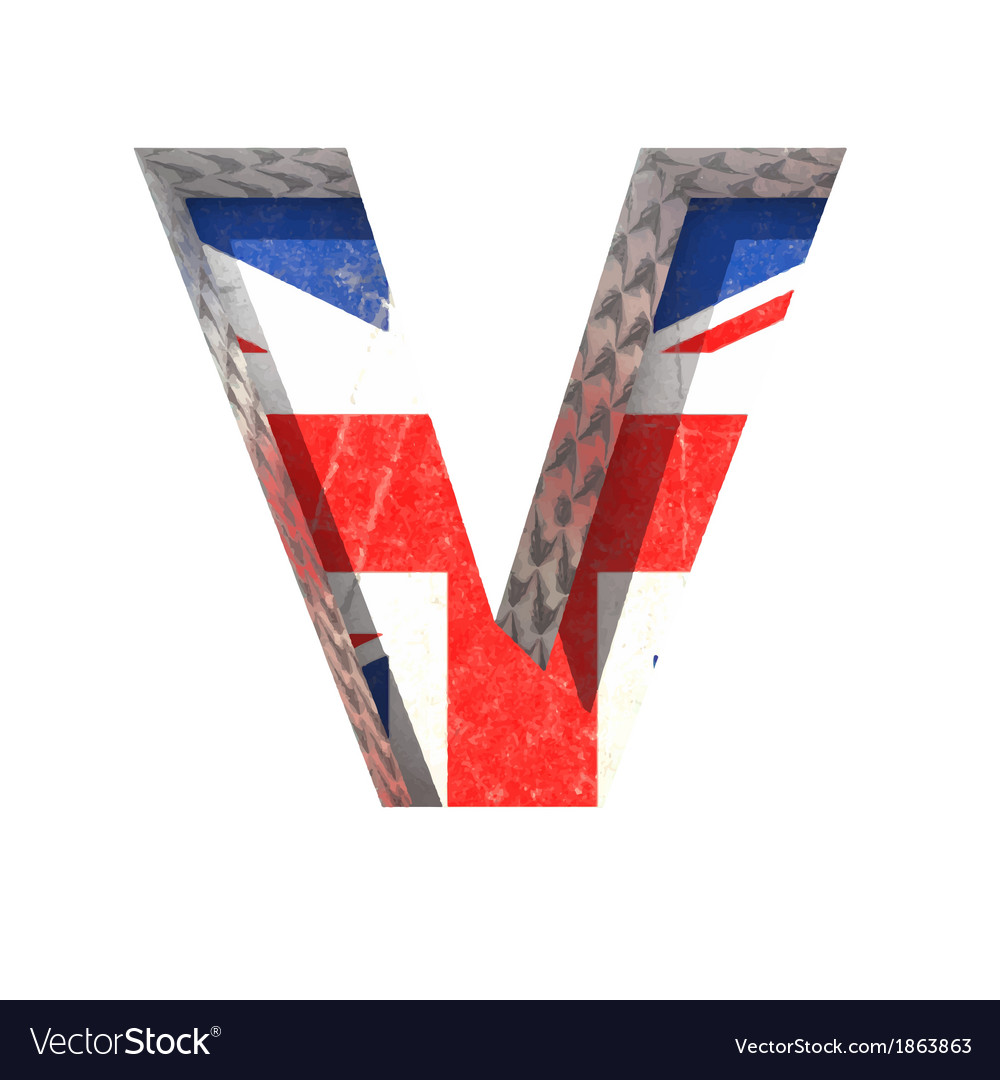 Great britain cutted figure v paste to any vector | Price: 1 Credit (USD $1)