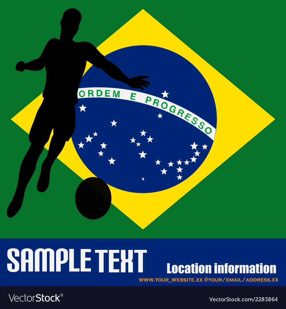 Brazil 2014 vector | Price: 1 Credit (USD $1)