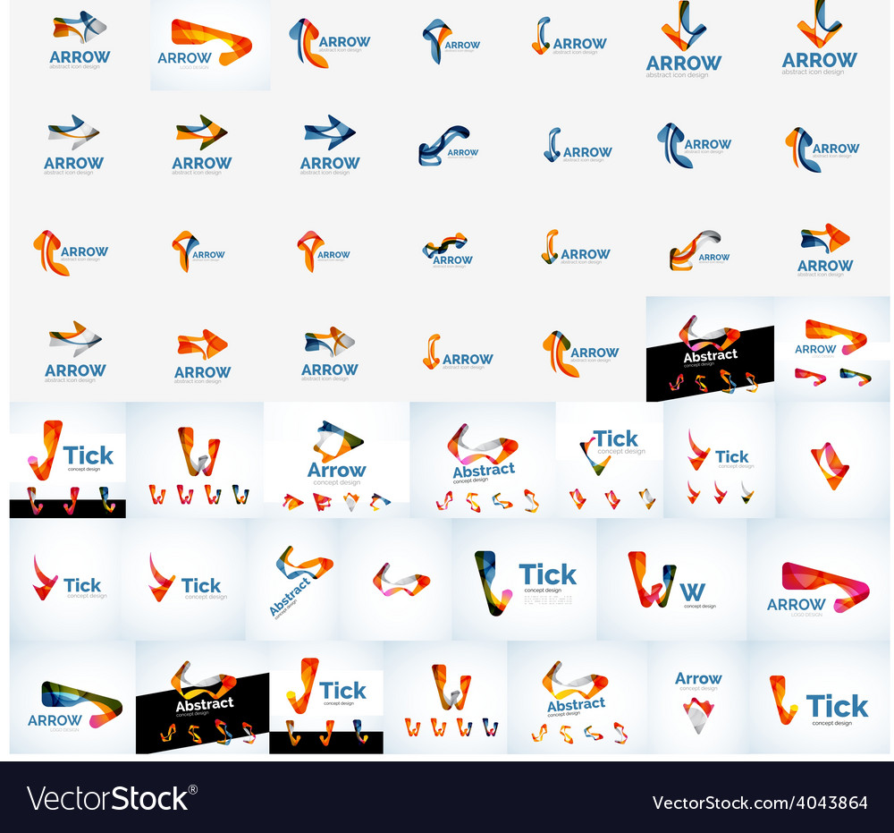 Set of logos vector   Price: 1 Credit (USD $1)