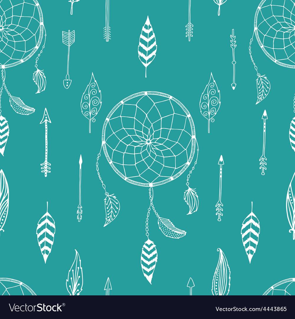 Arrow background retro pattern etnic doodle vector   Price: 1 Credit (USD $1)