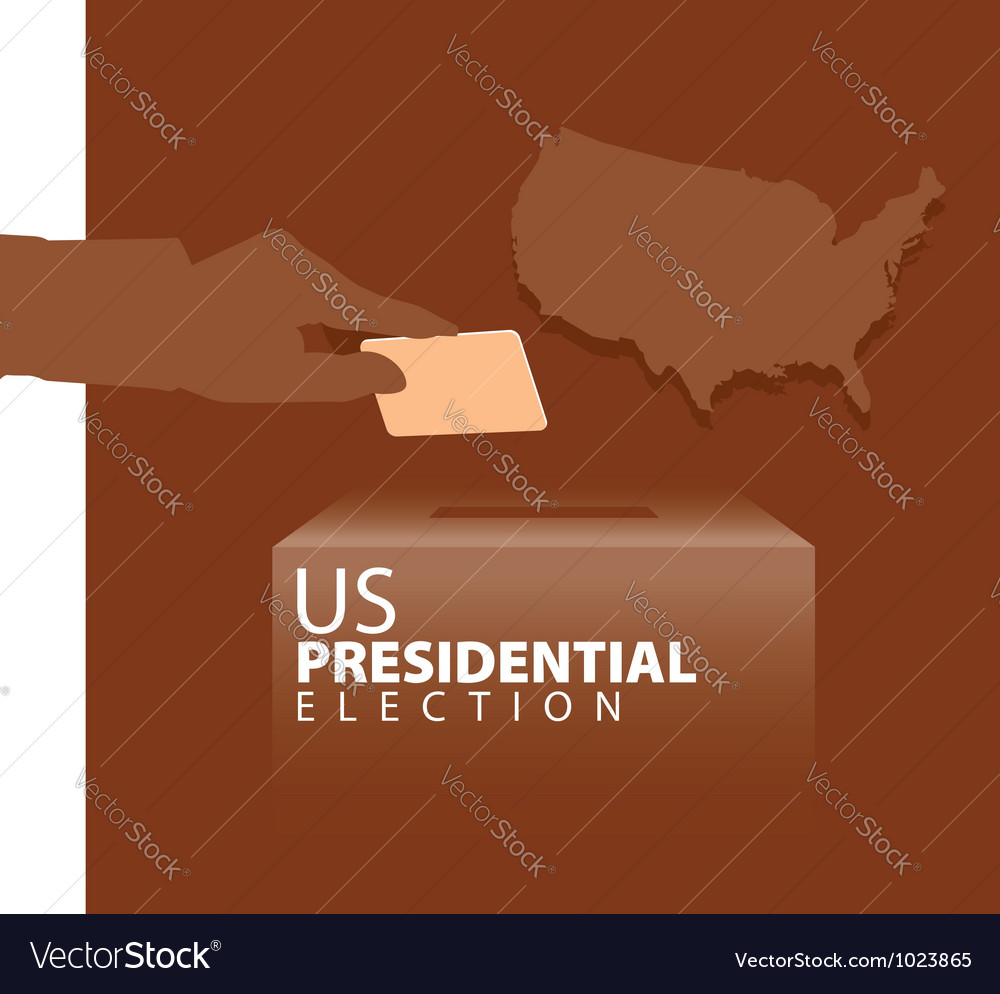 Us presidential election vector | Price: 1 Credit (USD $1)