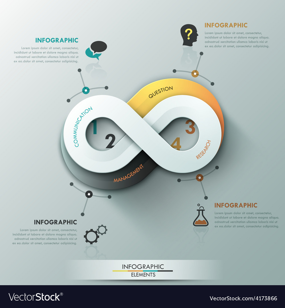 Modern infographic option banner vector   Price: 3 Credit (USD $3)