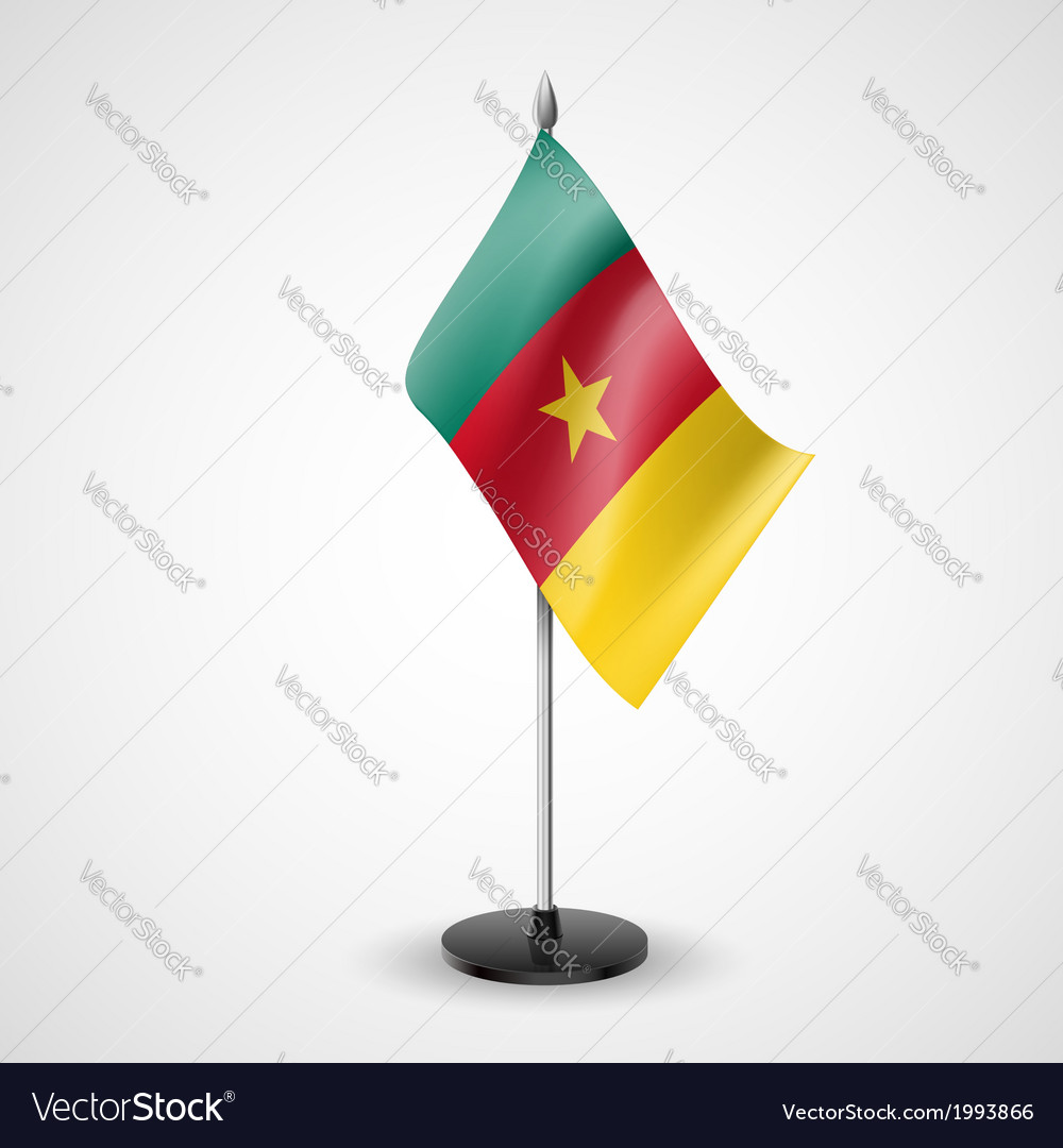 Table flag of cameroon vector   Price: 1 Credit (USD $1)