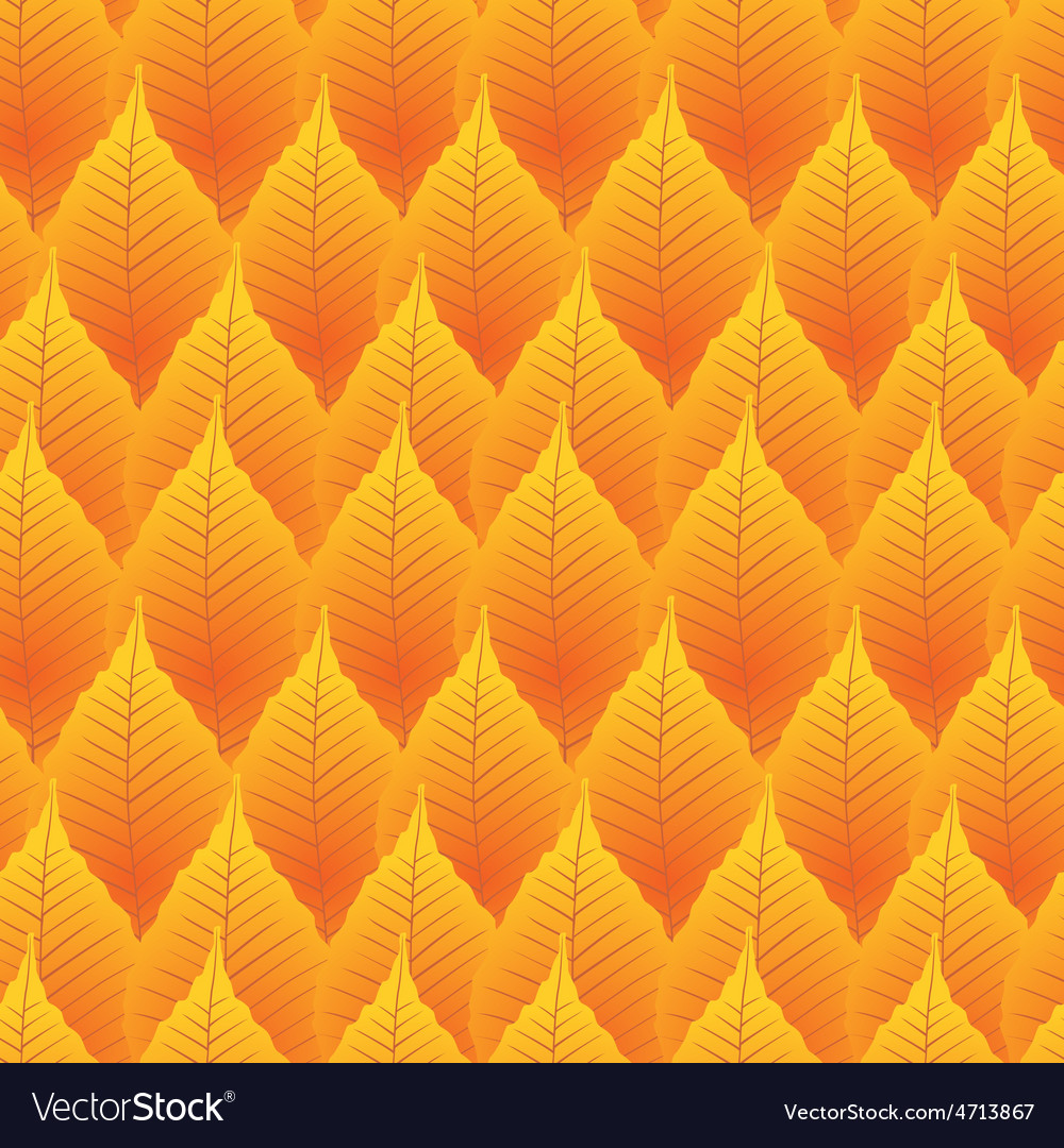 Seamless autumn leaves vector   Price: 1 Credit (USD $1)