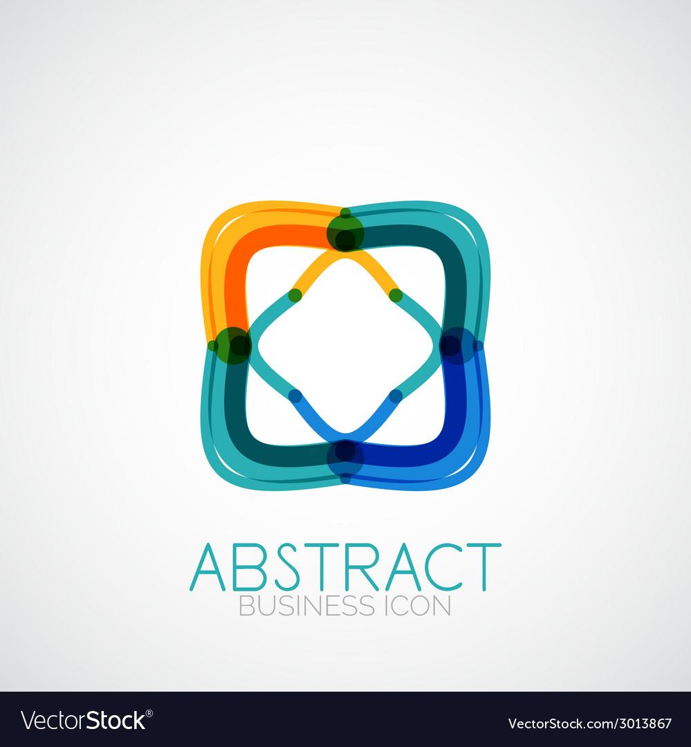Symmetric abstract geometric shape vector | Price: 1 Credit (USD $1)