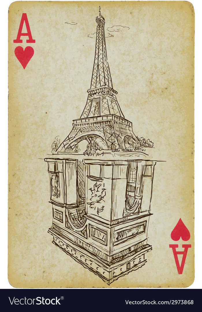Aces of paris vector | Price: 1 Credit (USD $1)