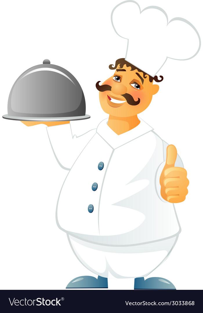 Chef cook man vector | Price: 1 Credit (USD $1)