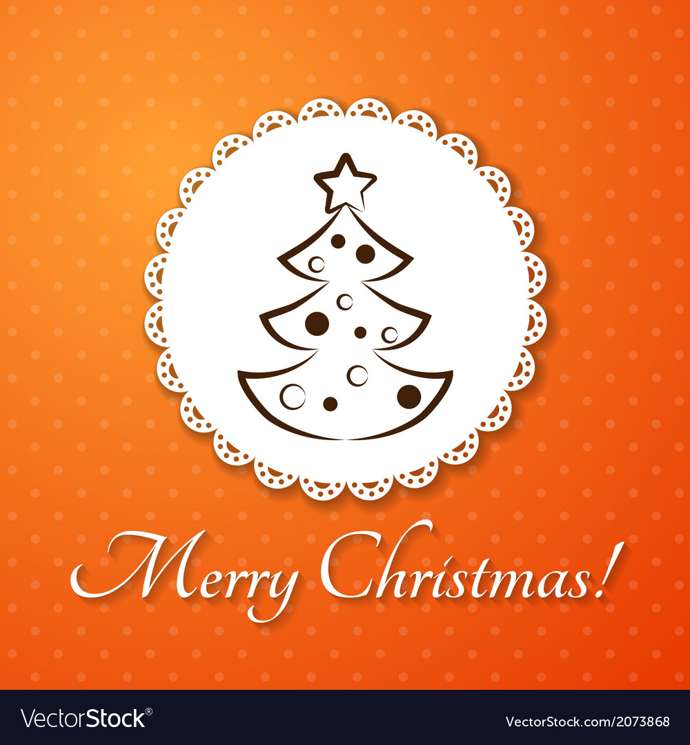 Christmas applique card background badge with vector | Price: 1 Credit (USD $1)