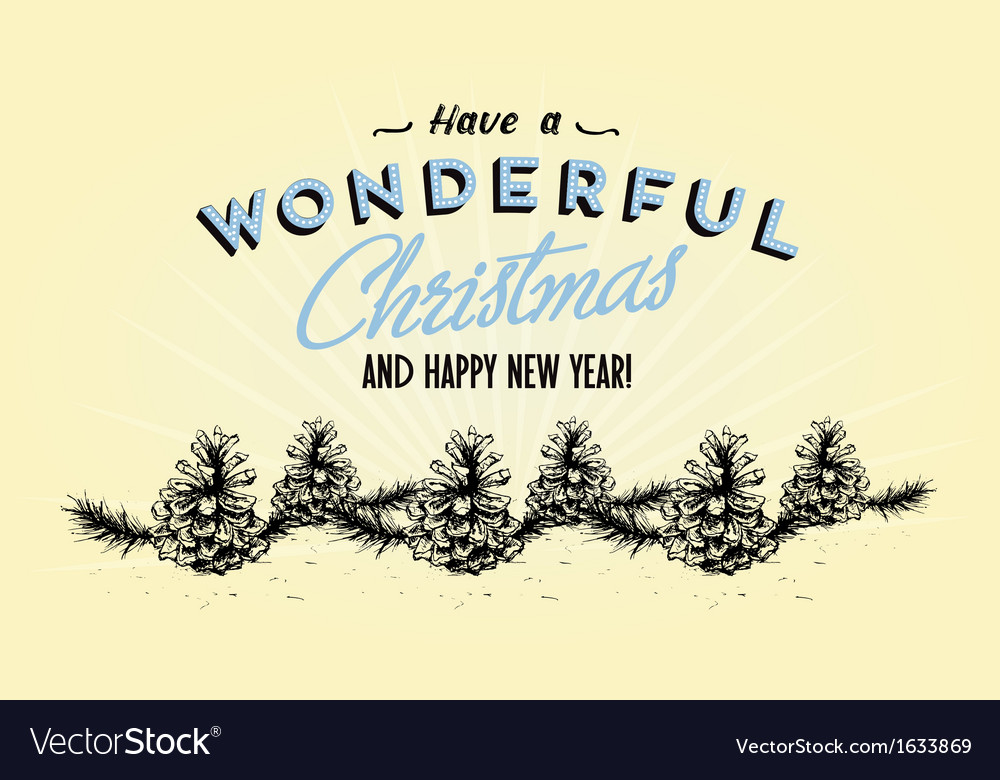 354retro vintage merry christmas tin sign vector | Price: 1 Credit (USD $1)
