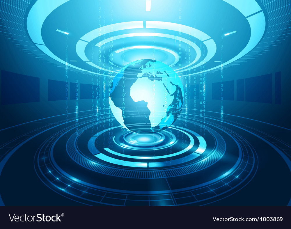 Abstract technology background vector | Price: 3 Credit (USD $3)