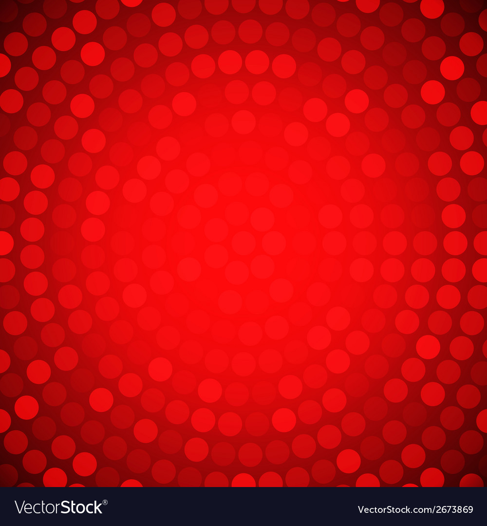 Circular colorful red background for your design vector | Price: 1 Credit (USD $1)