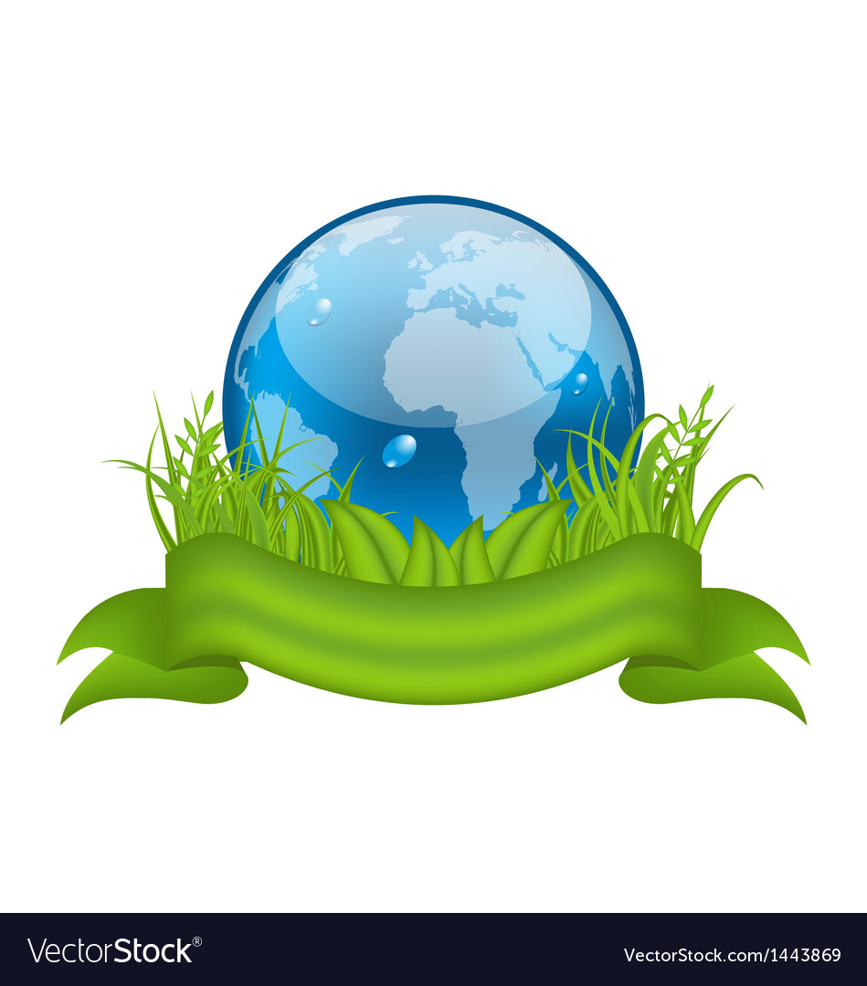 Go green life environment symbol isolated vector   Price: 1 Credit (USD $1)