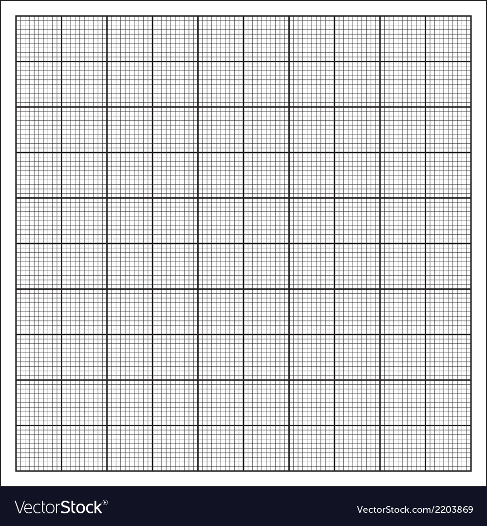 Grid paper vector | Price: 1 Credit (USD $1)