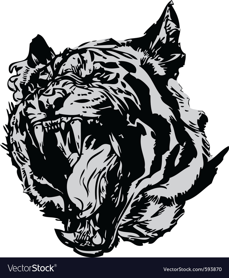 Abstract tiger vector | Price: 1 Credit (USD $1)